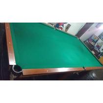 Mesa De Bilhar Snooker Profissional Muito Linda