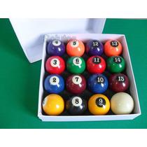 Jogo Importado 16 Bolas 54mm - Bilhar / Snooker / Sinuca