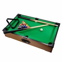 Mini Bilhar Sinuca Snooker De Mesa - Portátil