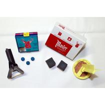 Bilhar,master,giz, Kit Completo P/ Reparação De Sola (10mm)
