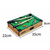 Mini Mesa De Sinuca Snooker Bilhar Winmax
