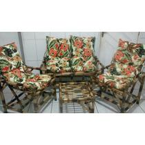 Cadeiras/sofá/poltronas De Vime/bambu/cana Da Índia