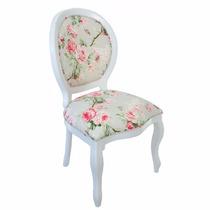 Cadeira Medalhão Lisa S Braço/ Cadeira Decorativa / Poltrona