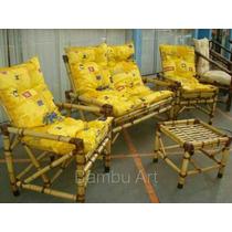 Sofá De Bambu / Poltronas / Cadeiras / Vime