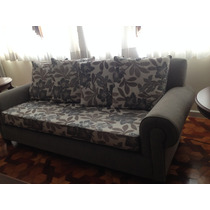 Sofa 3 Lugares Em Tecido