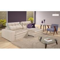 Sofá Retrátil Bellagio - Estofados Cadeiras E Poltronas