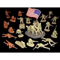 Iwo Jima Bmc Brinqtoys Soldadinhos Forte Apache
