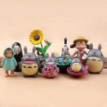 Bonequinhos Meu Vizinho Totoro 9 Pçs Anime Japones Miyazaki