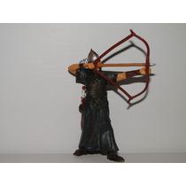 Arqueiro Arco E Flecha Espada Gladiador Romano Figura 10cm