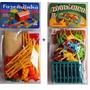 Kit Fazendinha Gulliver C/ 10 Figuras + Zoológico Com Jaulas