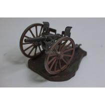 Miniatura Canhão De Guerra Lindo Adorno Enfeite Pintado Mão
