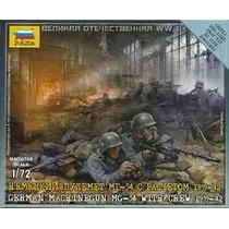 Soldados Zvezda German Machinegun 1/72
