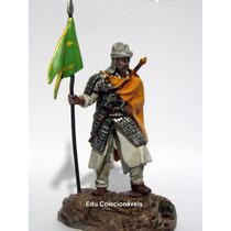 Kit 2 Miniaturas Soldado Guerreiro De Chumbo