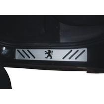 Soleira Em Vinil P/ 4 Portas Peugeot 206 / 206sw