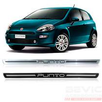 Kit Soleira Siliconada Resinada Porta Fiat Punto 2015/...