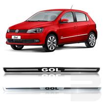 Kit Soleira Siliconada Resinada Porta Volkswagen Gol G5 G6