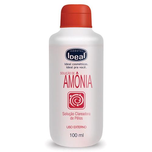 Soluçao Clareadora De Pelos C/ Amonia-kit C/ 3 Frascos