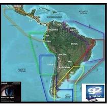 Carta Nautica Gps Sonar Garmin G2 3d Bluecharttg2 + Brindes