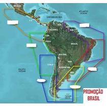 Carta Nautica Nova 2015 Garantia Infinita Sonar Gps Brasil T
