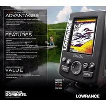 Sonar Lowrance Elite-3x Fishfinder Color Não Garmin, Piranha