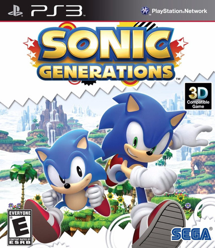 Sonic Generations - Ps3 - Pronta Entrega!