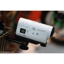 Camera Sony Action Hdr Az1-vr C/ Controle Remoto Pulso Wifi