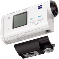 Filmadora Full Hd Sony Action Cam Wi-fi Nfc Gps - Hdr-as200v