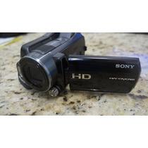Filmadora Sony Handcam Hdr-sr11 - Filma Em Full Hd Avchd