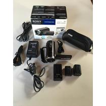 Camera Filmadora Sony Full Hd 1080p Cx350 2 Baterias Bolsa