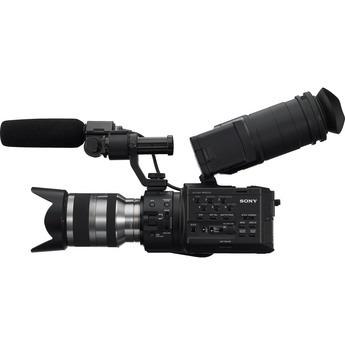 Sony Nex-fs100nk - Camcorder De Sensor Super 35mm (com Lente