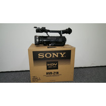Filmadora Profissional Sony Hvr Z1n Full Hd (na Caixa)