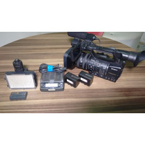 Câmera Profissional Sony Nx5 Cm Acessórios
