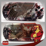 Kit Com 2 Skins Adesivas Tema God Of War Para Psp 1000 Fat