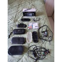 Sony Psp Slim 2010 32gb, Acess. Na Caixa Impecável!!!