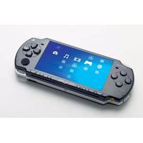Psp Sony Slim + Case + Destravado + Cartão De 4gb + 30 Jogos
