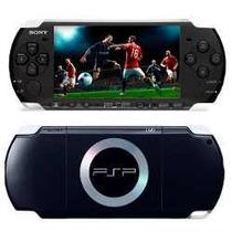 Psp Slim Sony3001-3010 Bivolt Desbloqueado +150 Jogos Brinde