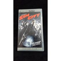Sony Psp Filme Sin City Cd E Capa Original.
