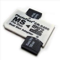 Adaptador Pro Duo + 2 Cartão De Memoria 8gb+ 15 Jogos (psp)