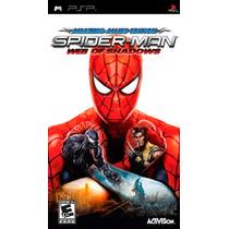 Jogo Psp Spider- Man Web Of Shadows