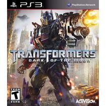 Jogo Ps3 Transformers Dark Of The Moon - Original