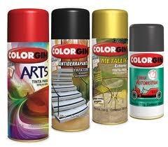 Spray Colorgin Seladora Para Plásticos