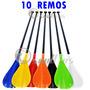 10 Remos Stand Up Paddle 700g - Várias Cores-pronta Entrega