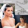 Enfeite Cabelo Testeira Noiva Strass Debutante Pronta Entreg