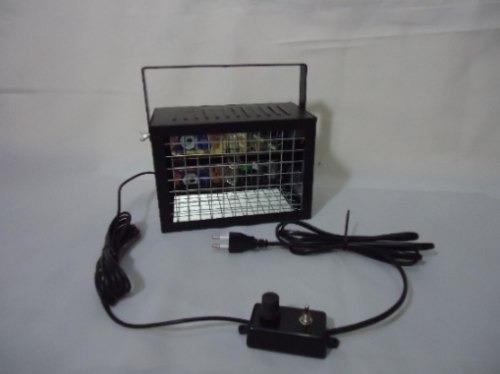 Strobo Iluminação Stroboscópica Dj 100w, Efeito Camera Lenta