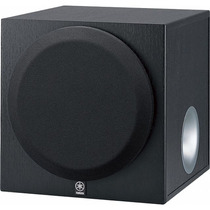 Subwoofer Ativo Yamaha 10 Pol Yst Sw-216 300w Home Theater