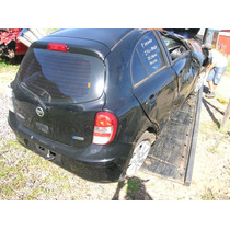 Nissan March 2012 1.6 Flex Sucata - Rs Peças