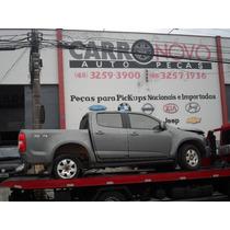 Sucata Chevrolet S-10 Diesel Ltz Peças Lataria Cambio Motor