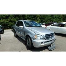 Mercedes-benz Ml 320 Sucata Motor/caixa/lata Amania Imports