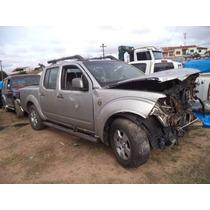 Sucata Peças Nissan Frontier Attack 2.5 4x2 Diesel 2013