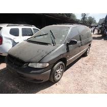 Sucata Chrysler Grand Caravan 3.3 Motor/caixa/lataria